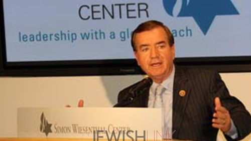 Congressman Discusses Hamas Crimes With SWC
