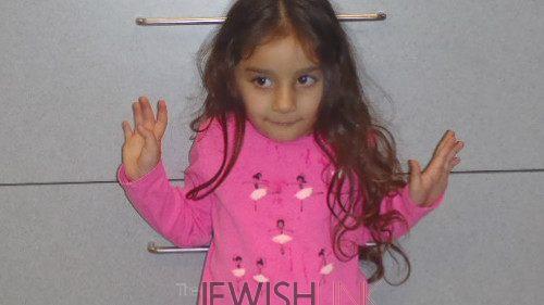 3 year -old girl