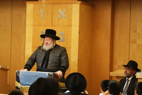 Pittsburgher Rebbe Visits Ohr Eliyahu - The Jewish Link