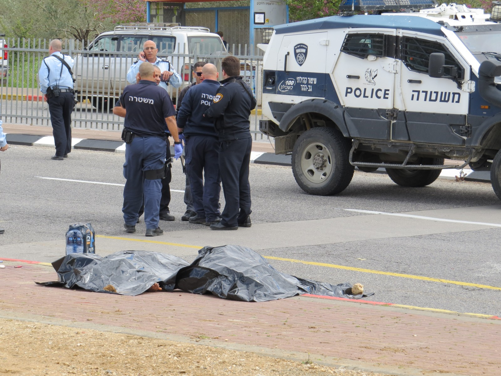 Young Girl Stabbed In Ariel Junction, Two Terrorists Killed - The