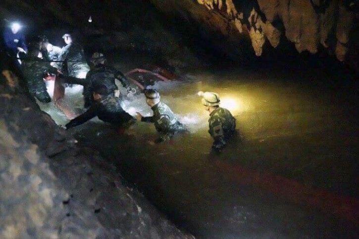 Mae Sai, Thailand – Missing Thai Boys 'Found Alive' In Cave Where They Went Missing Over A Week Ago