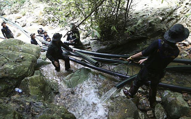 Ambassador to Thailand visits flooded cave site to offer Israeli assistance