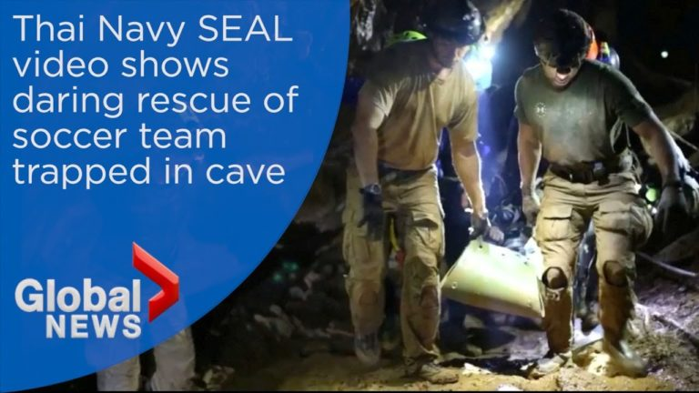 Video Captures Daring Operation That Rescued 12 Boys Trapped In Thai Cave