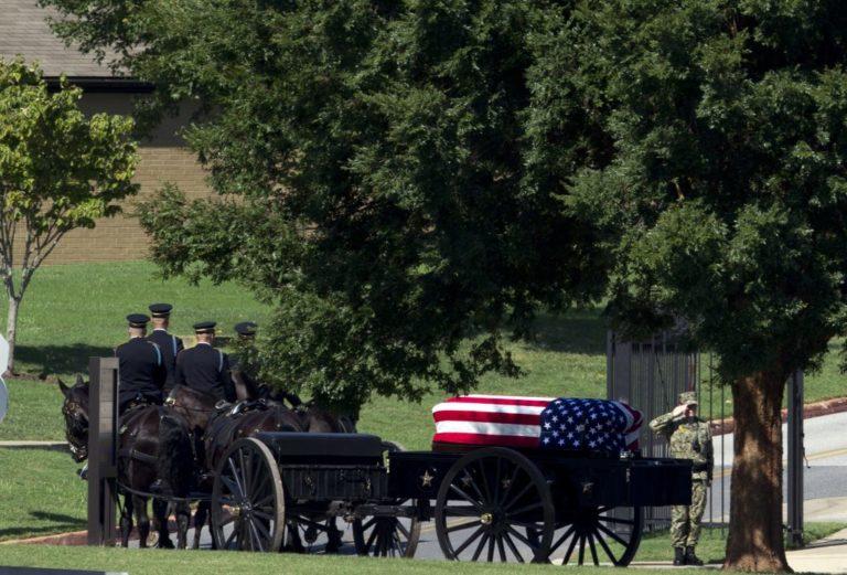 McCain Buried at Naval Academy Alongside a Longtime Friend
