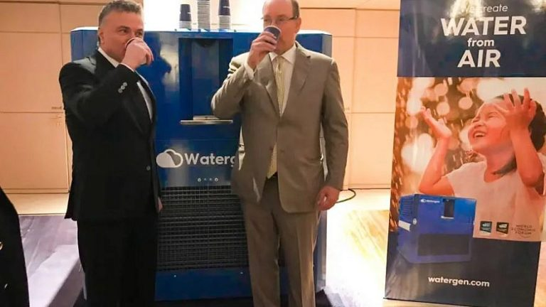 Monaco's Prince Albert installs Israeli air-to-water technology in palace